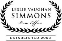 Leslie Vaughan Simmons Law Office - Opens New Window